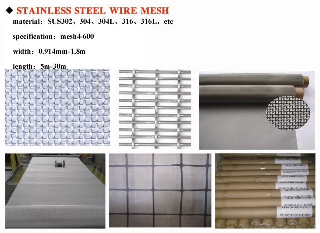 Stainless Steel Wire Mesh | Anping Wande Wire Mesh Products Co.,Ltd