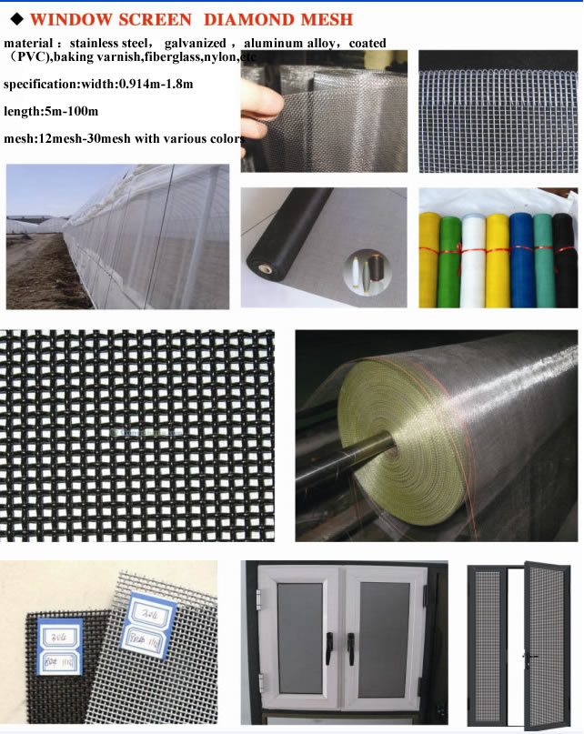 Window Screen | Anping Wande Wire Mesh Products Co.,Ltd